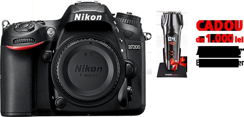 Nikon D7200 body + CADOU BaByliss Beard Designer (SH510E)