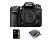 Nikon D7200 body + card Lexar 32GB + card reader Lexar