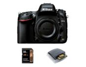 Nikon D610 body + card Lexar 32GB + card reader Lexar