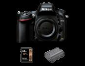 Nikon D610 body + card Lexar 64GB + Nikon EN-EL15a