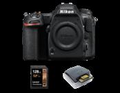 Nikon D500 body + card Lexar 128GB + card reader Lexar