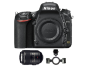 Pachetul medicului dentist - Nikon D750 body + 105mm f/2.8G IF-ED AF-S VR Micro NIKKOR + R1C1 Commander Kit