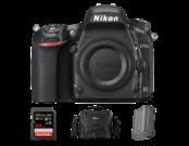 Nikon D750 body + acumulator Nikon EN-EL15a + card SanDisk 64GB SDXC Extreme Pro 95MB/s UHS-I V30 U3 + geanta Lowepro Nova 170 AW II