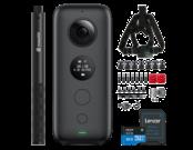 Insta360 ONE X + Snow Bundle + Selfie Stick + card 32GB
