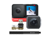 Insta360 ONE R Twin Edition + Selfie Stick + card 64GB mSDXC