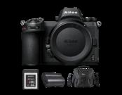 Nikon Z6 body + card 64GB XQD + acumulator Nikon + geanta Lowepro
