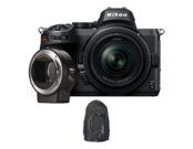 Nikon Z5 kit 24-50mm + FTZ + CADOU Rucsac Nikon