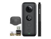 Insta360 ONE X + card 32GB mSDHC + Selfie Stick + Lens Cap for ONE X