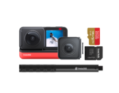 Insta360 ONE R Twin Edition + card 128GB mSDXC + Selfie Stick