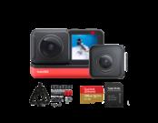 Insta360 ONE R Twin Edition + card 128GB mSDXC + Snow Bundle