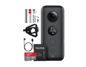 Insta360 ONE X + card 64GB mSDXC + Snow Bundle + cablu micro-USB