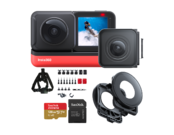 Insta360 ONE R Twin Edition + card 128GB mSDXC + Snow Bundle + Lens Guards