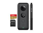 Insta360 ONE X + card 64GB mSDXC + Selfie Stick