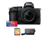 Nikon Z50 kit 16-50mm VR + card 64GB SDXC + geanta Nikon