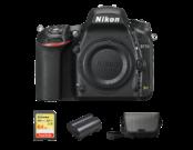 Nikon D750 body + card 64GB SDXC + acumulator EN-EL15b + geanta Nikon