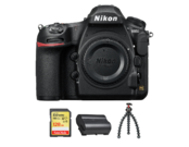 Nikon D850 body + card 128GB SDXC + acumulator EN-EL15b + trepied JOBY