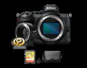Nikon Z5 body + FTZ + card 64GB SDXC + geanta Nikon