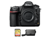Nikon D850 body + card 128GB SDXC + geanta Nikon