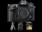 Nikon D7200 body + card Lexar 32GB SDHC CLS10 UHS-II 150MB/s + rucsac Lowepro Fastpack 250 AW II + trepied Velbon SHERPA 200R