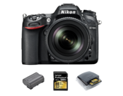Nikon D7100 Kit 18-105mm VR + acumulator Nikon EN-EL15a + card Lexar 32GB SDHC CLS10 UHS-II 150MB/s + card reader Lexar Professional USB 3.0 Dual-Slot