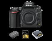 Nikon D750 body + acumulator Nikon EN-EL15a + card Lexar 128GB SDXC CLS10 UHS-II 150MB/s + card reader Lexar Professional USB 3.0 Dual-Slot