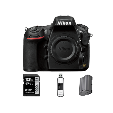 Nikon D810 body + card 128GB + acumulator + stick USB 128GB