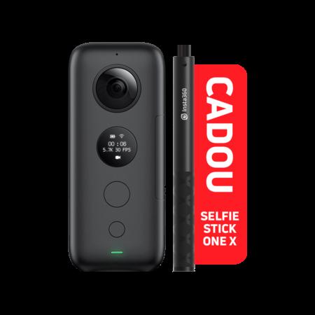 Insta360 ONE X + Selfie Stick CADOU