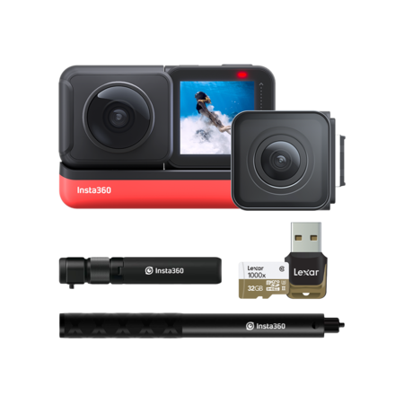 Insta360 ONE R Twin Edition + Bullet Time Bundle + card 32GB mSDHC