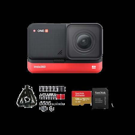 Insta360 ONE R 4K Edition + card 128GB mSDXC + Snow Bundle