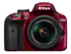 D3400 Kit AF-P 18-55mm VR (red)