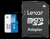 MicroSDHC 16GB CLS10 UHS-I 45MB/s + adaptor SD