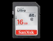 16GB SDHC Ultra CLS10 40MB/s