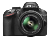 Nikon D3200 kit 18-55mm VR II (black) 0