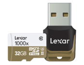 32GB mSDHC CLS10 UHS-II 150MB/s + reader