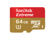 64GB mSDHC Extreme U3 CLS10 90MB/s + adaptor SD