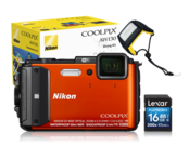 COOLPIX WATERPROOF AW130 Diving Kit (orange)