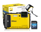 COOLPIX WATERPROOF AW130 Diving Kit (yellow)
