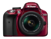 D3300 Kit AF-P 18-55mm VR (red)
