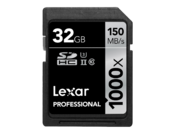 32GB SDHC CLS10 UHS-II 150MB/s