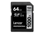 64GB SDXC CLS10 UHS-II 150MB/s citire, 90MB/s scriere