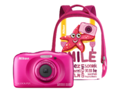 Nikon COOLPIX WATERPROOF W100 backpack kit (pink)  0