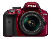 Nikon D3400 Kit AF-P 18-55mm VR (red) 0