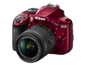 Nikon D3400 Kit AF-P 18-55mm VR (red) 1