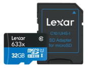32GB mSDHC CLS 10 UHS-I 95 MB/s + adaptor SD