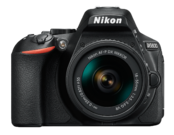 Nikon D5600 kit AF-P 18-55mm VR (black)  0