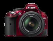 Nikon D5200 Kit 18-55mm VR (red)