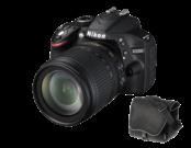 Nikon D3200 Kit 18-105mm VR (black) + geanta