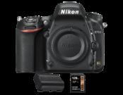 D750 body + acumulator Nikon EN-EL15a + card Lexar 128GB SDXC 95MB/s