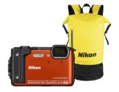 Nikon COOLPIX W300 Holiday kit orange   0