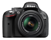 Nikon D5200 kit 18-55mm VR (black) 0